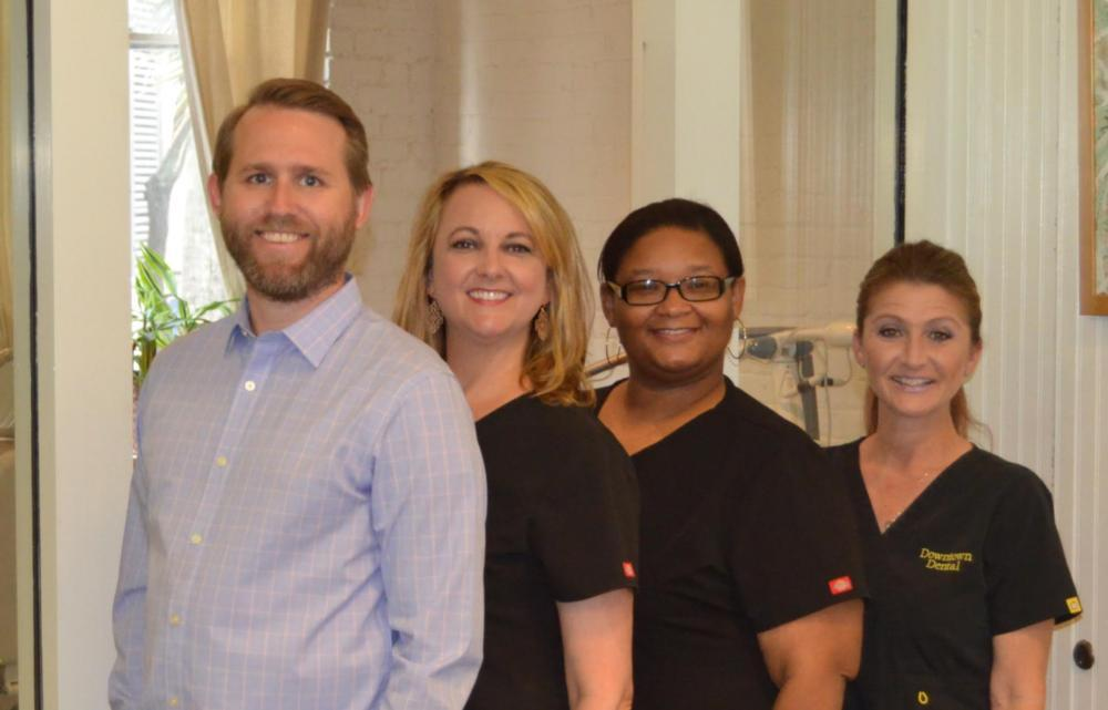 The team at Downtown Dental in New Orleans